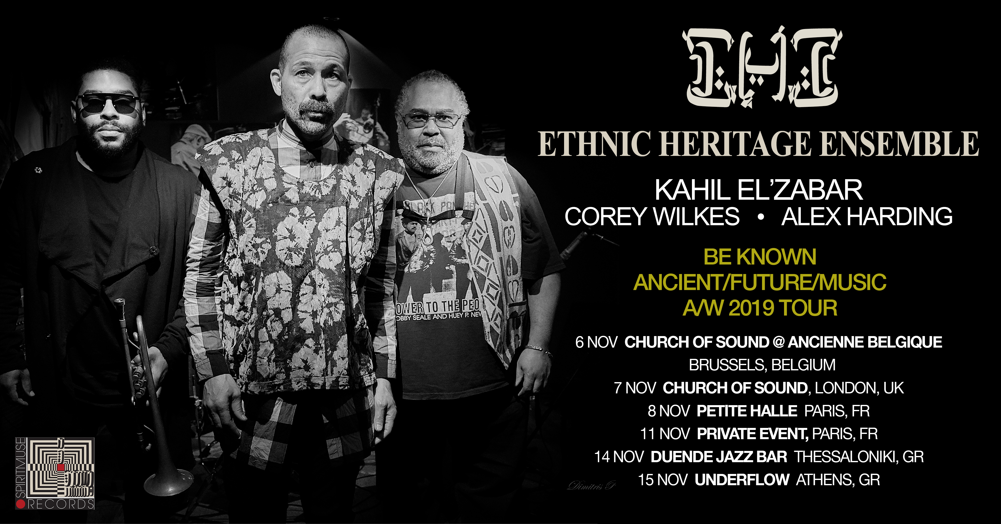 Ethnic Heritage Ensemble European Tour Autumn 2019